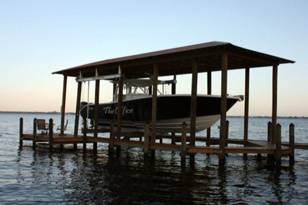Boathouse Boat Lifts